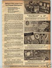 1971 Paper Ad Barbie Housekeeping Sweeper Buffy Tea Set Peanuts Metal Tulip