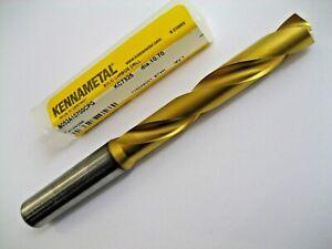 10.7mm CARBIDE DRILL BIT THROUGH COOLANT 5xD KENNAMETAL B052A10700CPG KC7325 P27