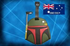 Star Wars Boba Fett Silicone PVC Cartoon Travel Luggage Suitcase Tag School