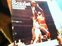 #A-7 OLD PROGRAM  MEDIA GUIDE RUTGERS  BASKETBALL  VS SYRACUSE 1980