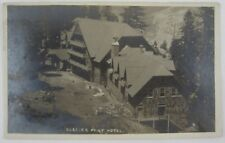 Vintage RPPC Yosemite National Park Glacier Point Hotel Resort Camp Curry 1919
