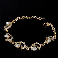 Hot Sale Particular Dolphin Bracelet 18k Gold Plated Austrian Crystal Wholesale