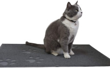 New listing Andalus Cat Litter Mat | Small/Large/X-Large Size | Phthalate Bpa Free | Traps