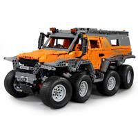 Bausteine LKW Sibirien Fernbedienun Auto Spielzeug Geschenk Modell Kind