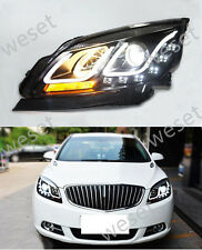 HID Xenon Modified Headlights For 2011-2014 Buick Verano/Excelle GT With LED DRL