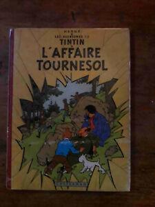 Tintin - L'affaire Tournesol b20 - EO belge de 1956.