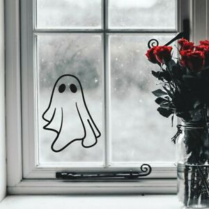 Halloween Sticker Ghost Window Decal Kids Party Decorations