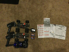 New listing Two 1:16 2.4Ghz 4Wd High Speed Rc Trucks (Brushed) For Parts or Repair