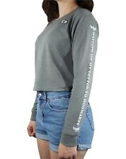 Harry Potter Waiting For My Letter To Hogwarts Grey Cropped Long Sleeve