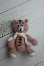 Knitted Bear Handmade Soft Toy for newborn photography