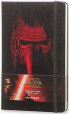 STAR WARS ~ FORCE AWAKENS ~ RULED MOLESKINE NOTEBOOK JOURNAL DIARY + LE STICKERS