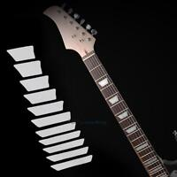 Guitar Fretboard Decals Trapezoid Shaped Neck Inlay Sticker Decals Fret Markers