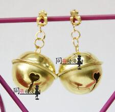 Danganronpa Celestia·Ludenbeck Cosplay Accessories Bell Neko 2PCS Ear Clip Ring