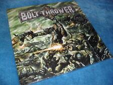 BOLT THROWER -HONOUR VALOUR PRIDE- AWESOME RARE BLACK VINYL x 2 LTD POSTER NEW
