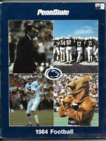1984 Penn State Football Yearbook Joe Paterno front cover