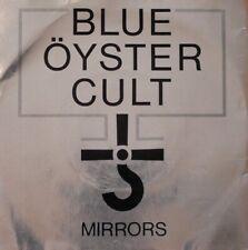 BLUE OYSTER CULT Mirrors Vinyl Record 7 Inch CBS 1979 Clear Vinyl Mirror Sleeve