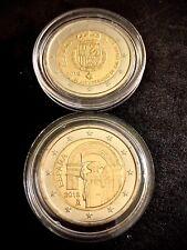 España Pareja 2 Euros 2018 Santiago De Compostela y 50 Aniv. Felipe SIN CIRCULAR