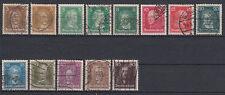 Echte gestempelte ungeprüfte Briefmarken aus dem deutschen Reich (1924-1932)