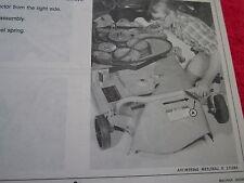 1988 JOHN DEERE 850, 950, & 1050 UTILITY TRACTOR 172 MOWER DECK OPERATORS MANUAL