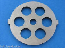 "1/2"" Course Grind Meat Grinder plate disc die for electric Rival Sunmile Deni"