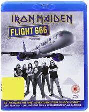 "IRON MAIDEN ""FLIGHT 666 THE FILM"" BLU RAY NEW+"