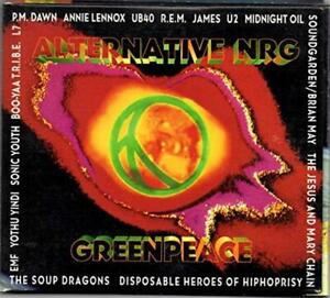 Alternative NRG - Music CD - Annie Lennox,James,UB40,The Jesu -   - Hollywood Re