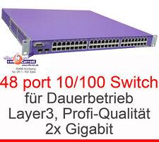 48PORT NETWORKSWITCH  NETWORKS SUMMIT 48 s LAYER3 LAYER 3 2xREDUNDANTE NETZTEILE