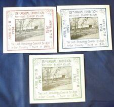 Mayfairstamps Cinderellas 1951 Pottstown PA Stamp Club Exhibition Souvenir Sheet