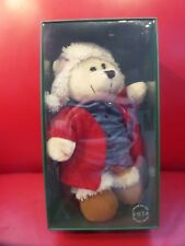 NEW 2016 Starbucks Plush 118th Ed Holiday Bearista Bear Furry Hat & red sweater