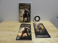 God of War: Ghost of Sparta Sony PSP Complete with case and manual. Tested!