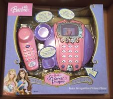 2004 BARBIE Princess and the Pauper Voice Recognition Picture Phone *NEW*