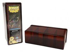 Dragon Shield - 4 compartimento Storage Box Brown-carte box