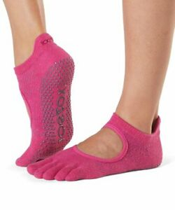 TOESOX BELLARINA FULL TOE 'FANTASY' YOGA/ PILATES/ DANCE/ GRIP SOCKS- SMALL