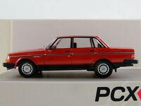 PCX87 870116 Volvo 240 Limousine (1984-1991) in rot 1:87/H0 NEU/OVP