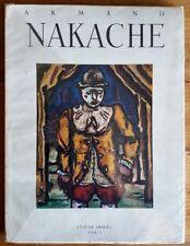 EO PIERRE MAC ORLAN + ARMAND NAKACHE + MAGNIFIQUE DESSIN ORIGINAL + DÉDICACE