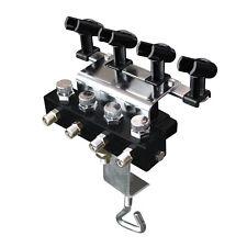 OPHIR Airbrush Holders with 1/8 & 1/8 Splitter for 4pcs of Airbrush Kit_AC121