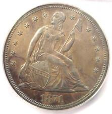 1871 PROOF Seated Liberty Silver Dollar $1 Coin - ICG PR62 (PF62) - $3030 Value!