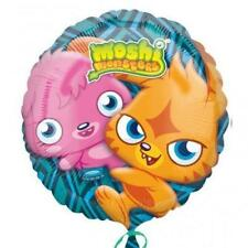"HELIUM FOIL BALLOON 18"" ROUND SHAPE MOSHI MONSTERS"