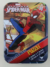 "Marvel Ultimate Spiderman Mini 50 Piece Puzzle 5"" x 7"" in Travel Tin NEW Sealed"