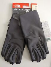 North Face Men's Apex ETIP Gloves Asphalt Grey CapacitativeTouch screen XXL NEW