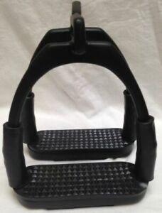 Brand New Flexi Bendy Offset Eye Stirrup Pairs Iron stainless steel.DB