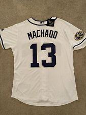 New Manny Machado Jersey Majestic Cool Base Padres White Men's Medium