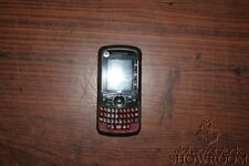Used & Untested Motorola i465 Clutch Maroon Phone For Parts Or Repairs Only