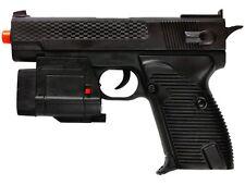 Dark Ops Airsoft M210AF Spring Pistol Tactical Airsoft Gun w/ Laser and Light