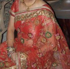 Half and Half Net and Pure Georgette Banarasi Saree