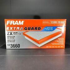 Fram CA3660 Air Filter Lot Of 2 Fit AF1031 PA2103 VA3465 AF805 A23465 42133 2133