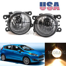 Fog Light For Ford Fiesta 2014 2015 2016 2017 PAIR Replacement Clear Lens L&R US