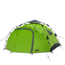 3 Personen Zelt QEEDO Quick Pine 3 Sekundenzelt Campingzelt Pop Up Zelt