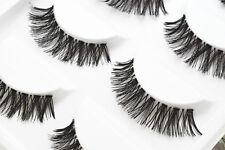 5 Pairs Long Natural Thick Handmade Fake False Eyelashes Eye Lashes  #17