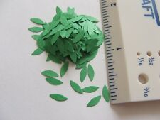 """1"""" scale Pre Punched Long pointed oval shaped leaves"""